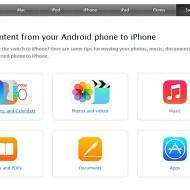 Apple ще ви помогне да си прехвърлите данните от вашето Android устройство