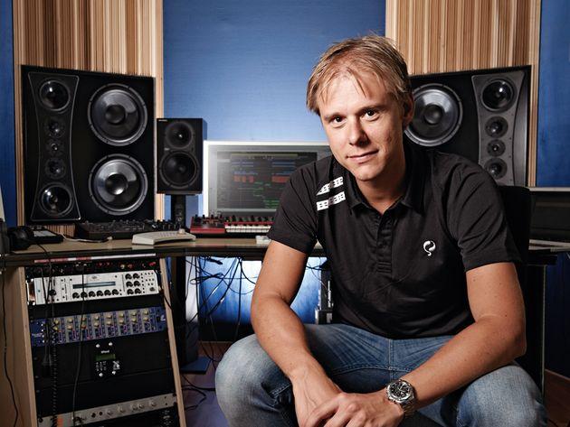 Armin van Buuren's studio