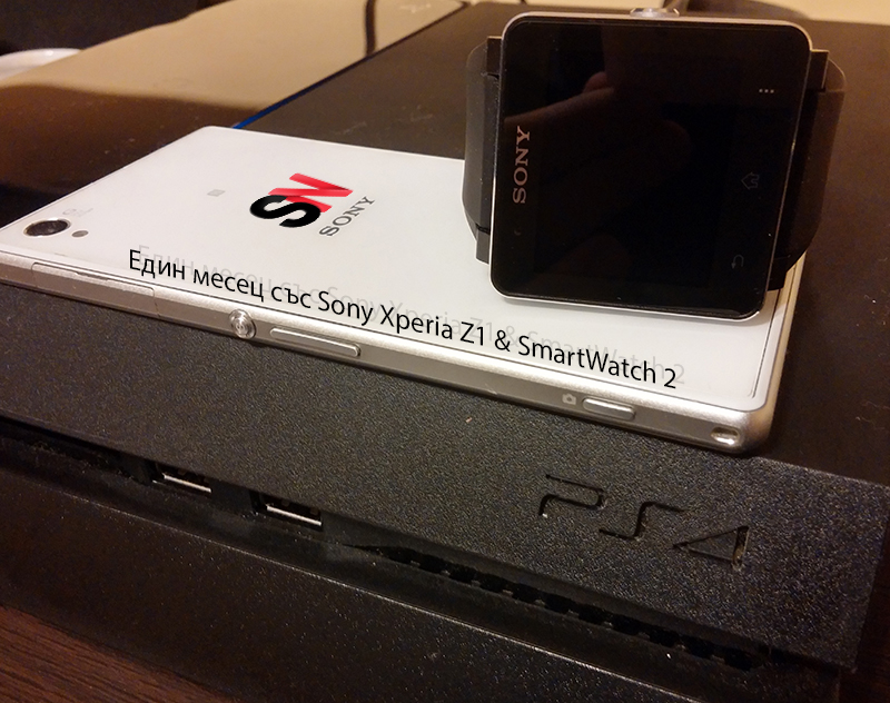 xperia z1 and smartwatch 2