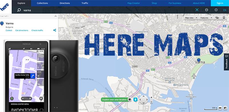 here maps windows 10 smart news. Black Bedroom Furniture Sets. Home Design Ideas