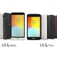 LG L Fino и L Bello вече и в България