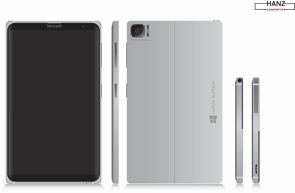 Microsoft Lumia Surface Concept Ba Be Bc Bd Smart