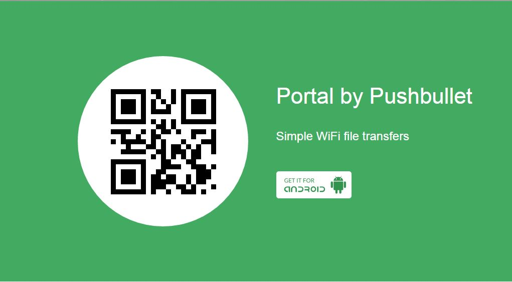 Pushbullet Portal