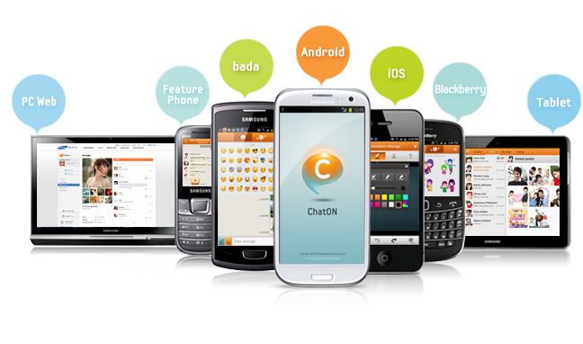 Samsung представи ChatON 2.0 за всички операционни системи