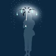 Air Umbrella е бъдещето на… това да сте сух, когато вали