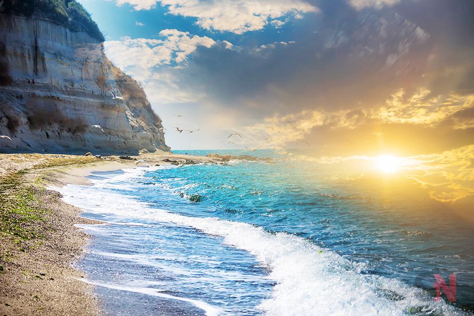 summer-beach-sunset-picture