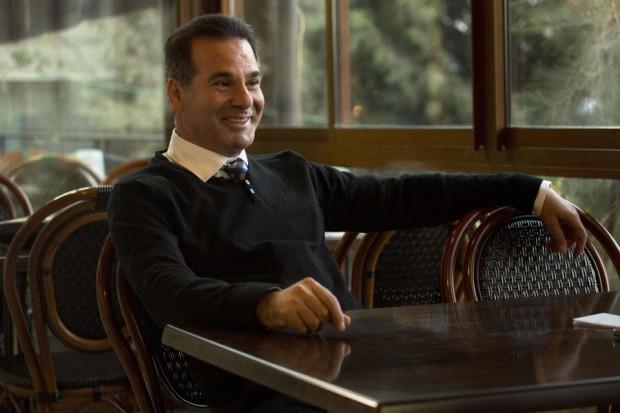 Йовдат Ибрахим в своя ресторант