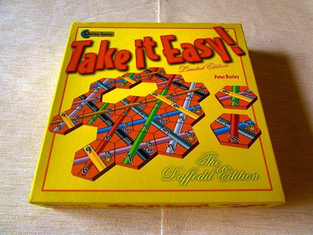 take it easy! 1