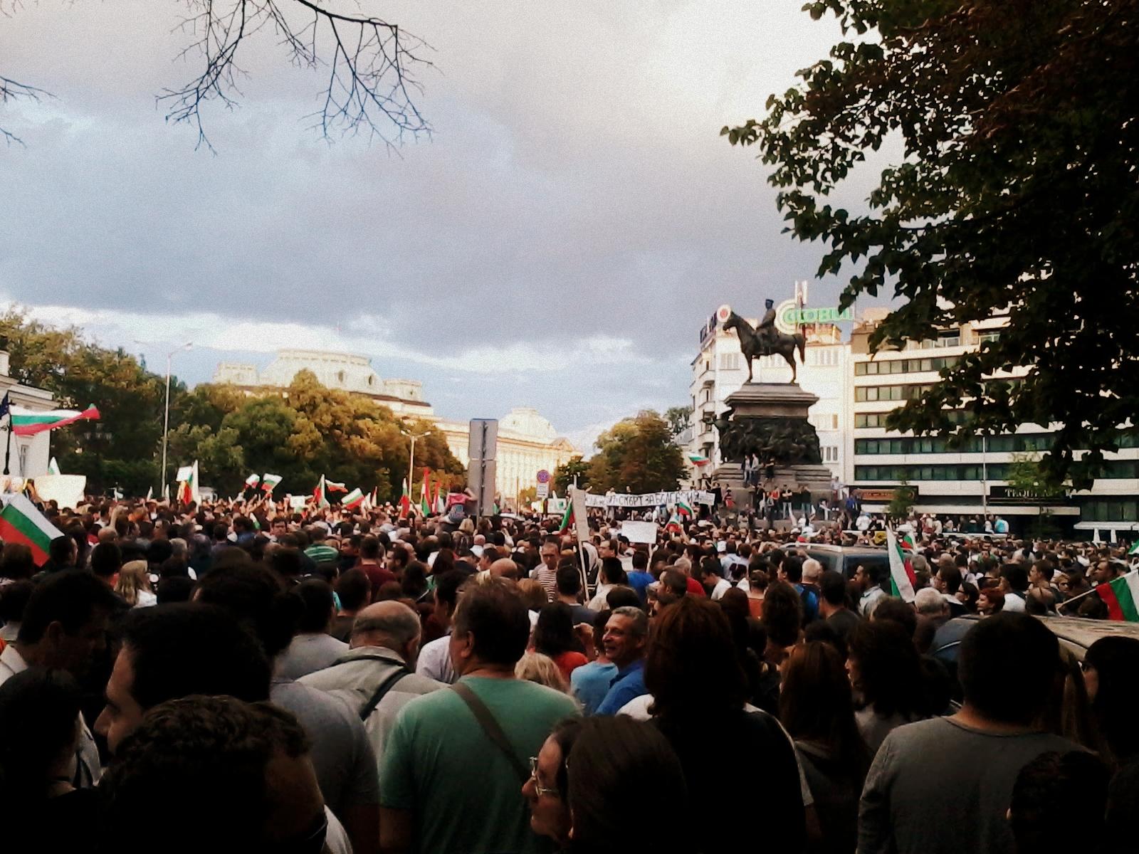 Събота, протести пред Парламента