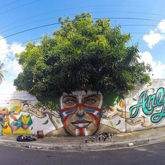 графити природа