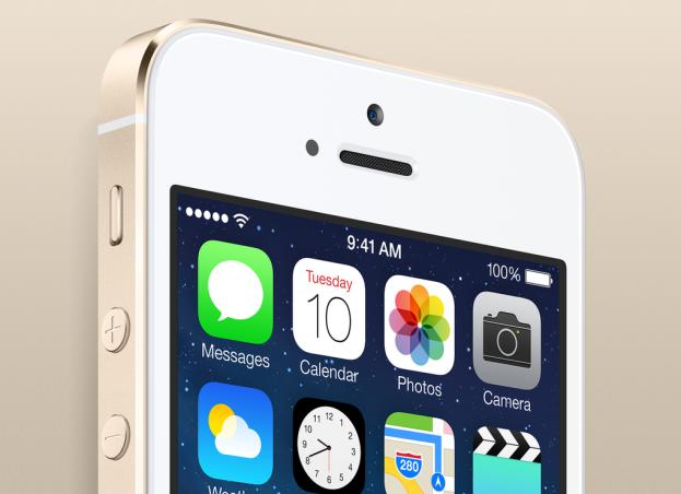 Apple golden iphone 5s
