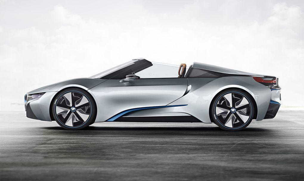 BMW i8 Spyder 2