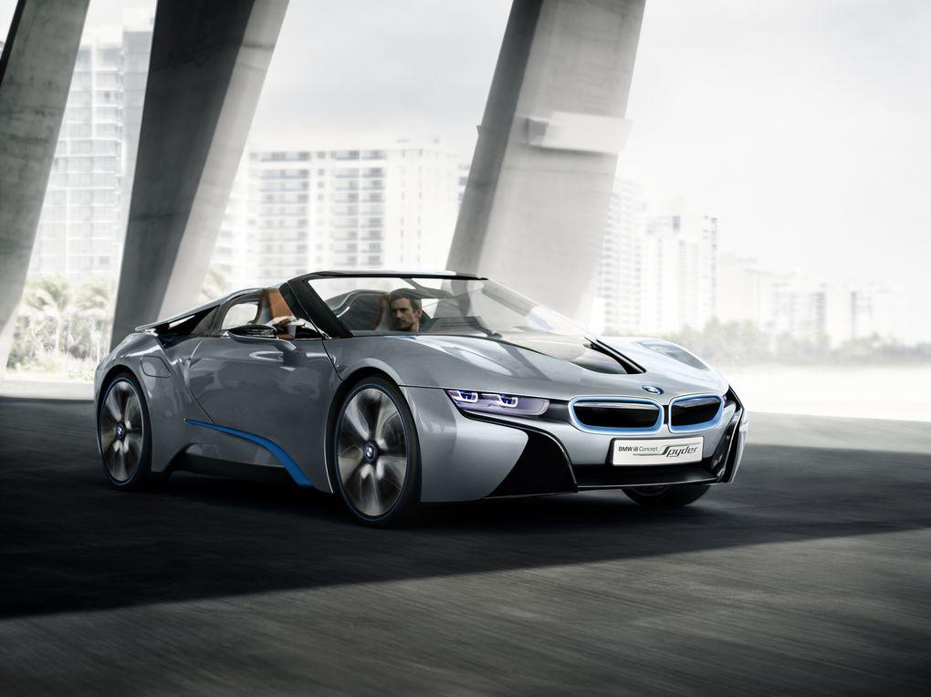 BMW i8 Spyder 3