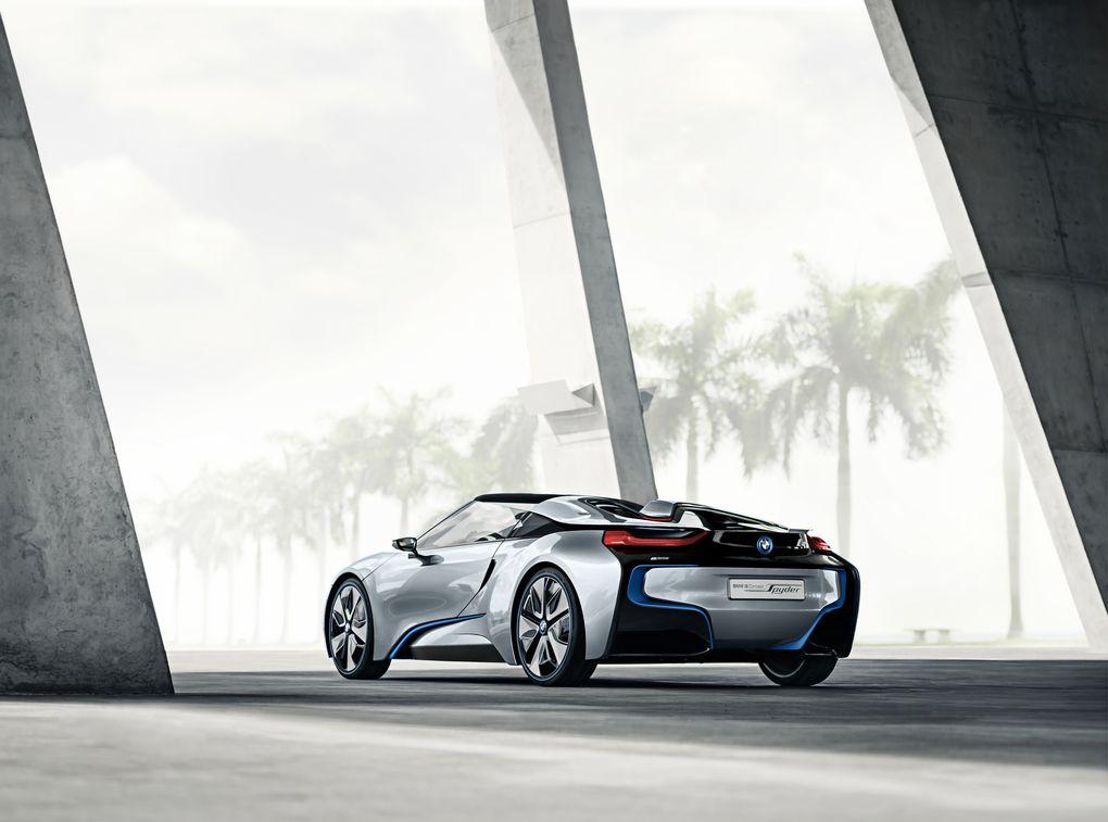 BMW i8 Spyder 4