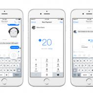 Facebook Messenger send money