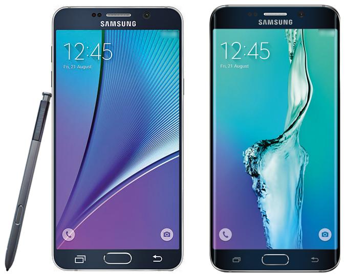 Galaxy Note 5 Galaxy S6 Edge Plus