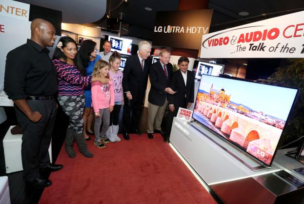 LG Ultra HDTV Launch