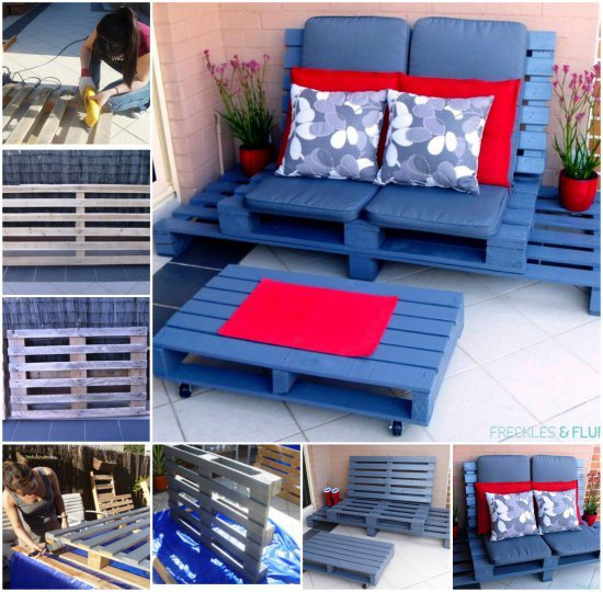 Pallet Furniture Designs 1