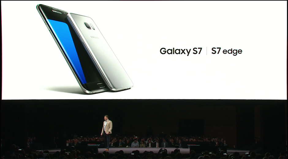 Samsung Galaxy S7 S7 Edge unpack 2
