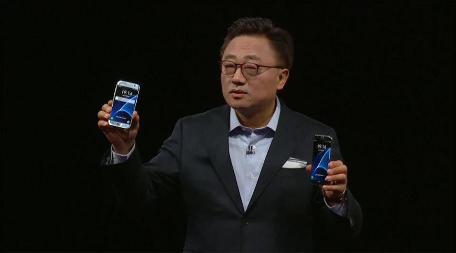 Samsung Galaxy S7 S7 Edge unpack