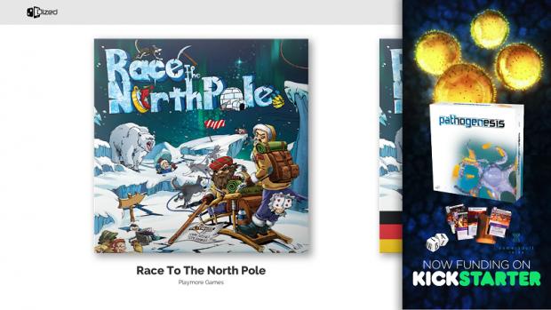 Засега приложението работи само с Race to the North Pole.