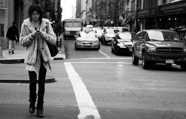 Texting-While-Walking