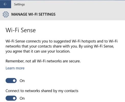 WiFiSense