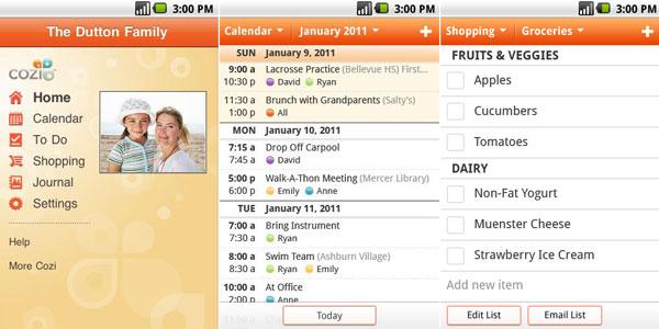 android-cozi-family-calendar-lists-app