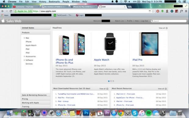 apple-internal-website-access