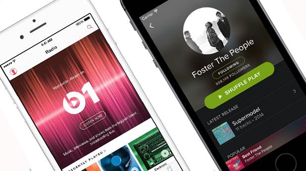 apple music spotify