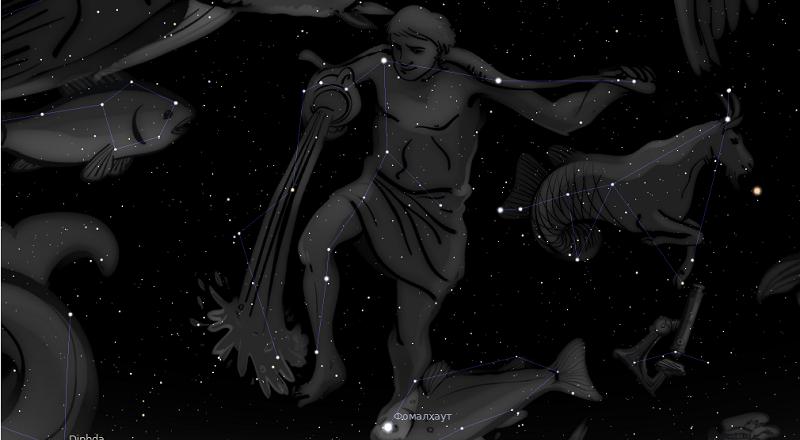 астрологията stellarium водолей