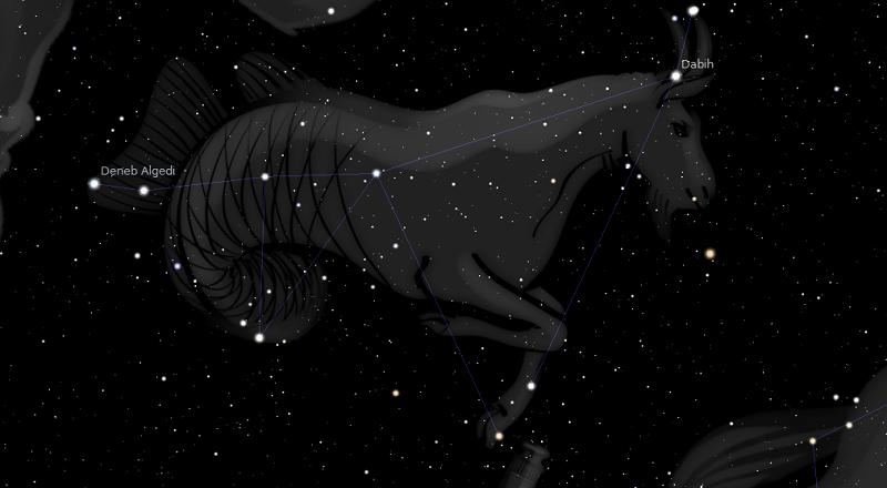 астрологията stellarium козирог