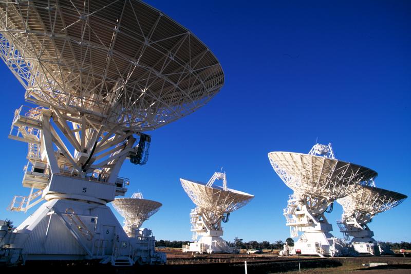 Телескопите CSIRO в Австралия | Снимка: Phys.org