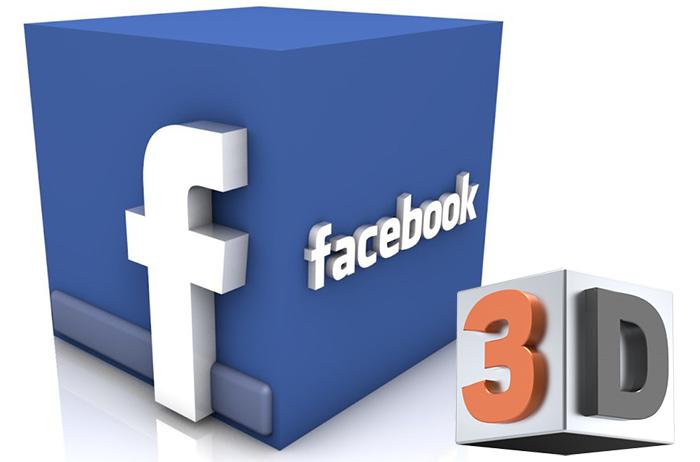 3d снимки във Фейсбук