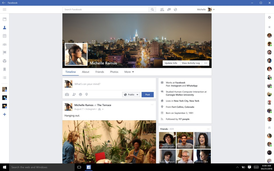 facebook-for-windows-10