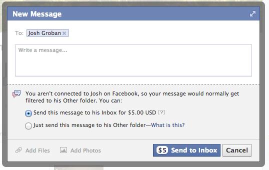 facebook paid
