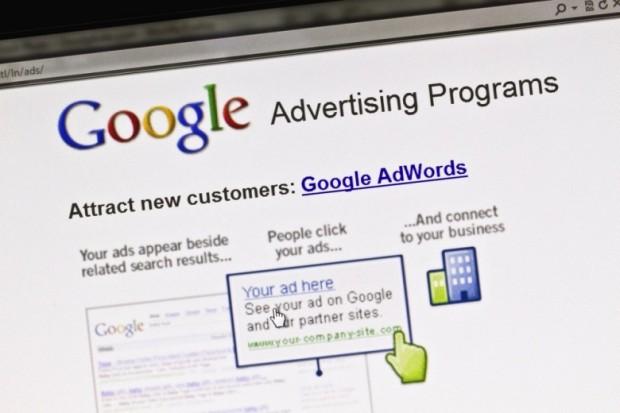 Google AdWords, реклами в Google