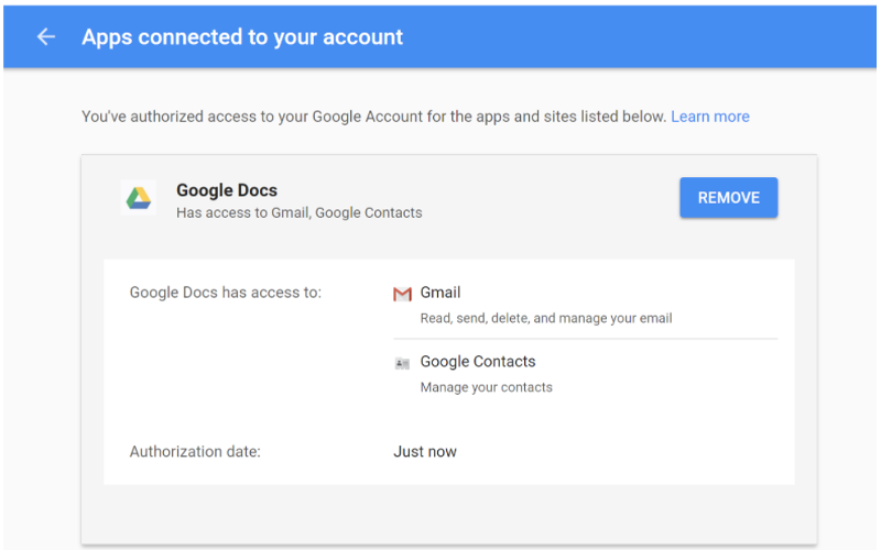 google-connected-apps-and-sites-screenshot