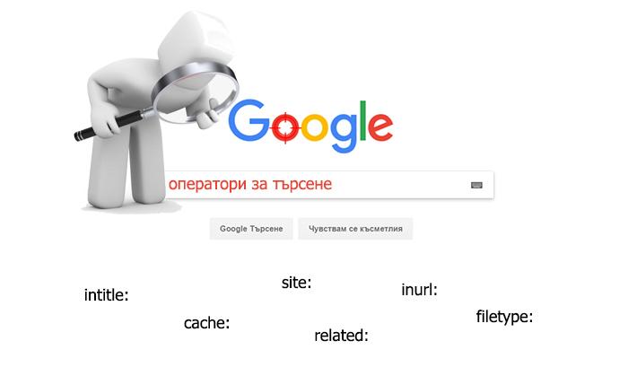Google оператори за търсене