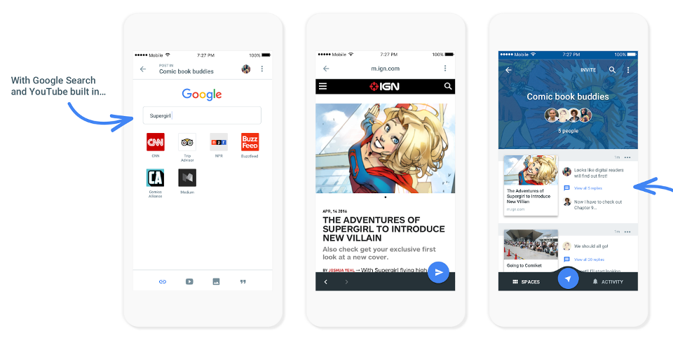 google-spaces-ios-android-app