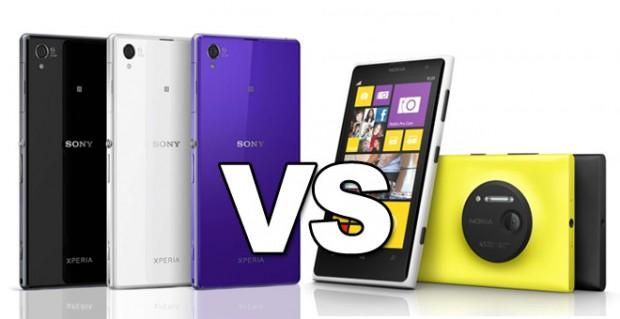 Lumia vs Z1