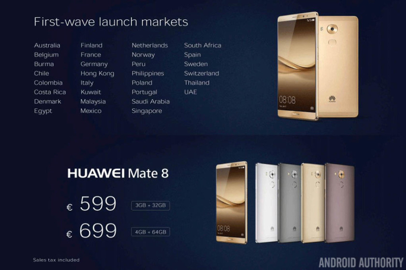 huawei-mate-8-first-countries-and-price