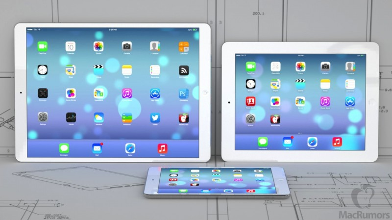 Концепция на iPad / Image Credit: MacRumors