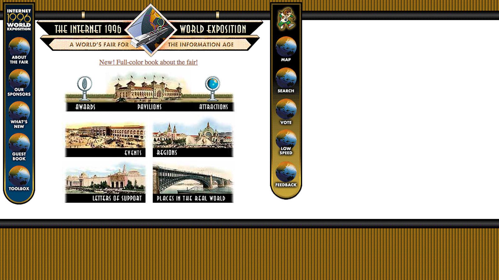 Сайт с обзор на събитията от 1996 година