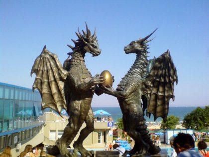 pair-of-dragons-in-love