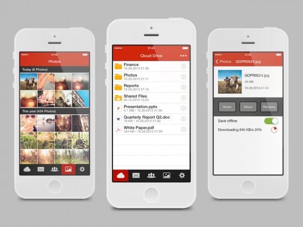 Mega iOS приложение
