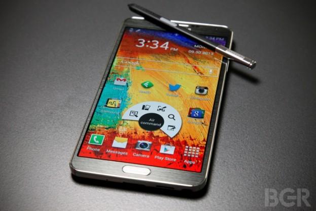 Samsung Galaxy Note 3 / Image Credit: BGR