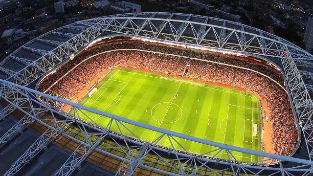 дрон стадион