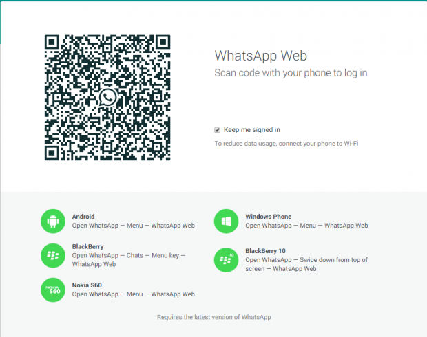whatsapp-web-client уеб клиент