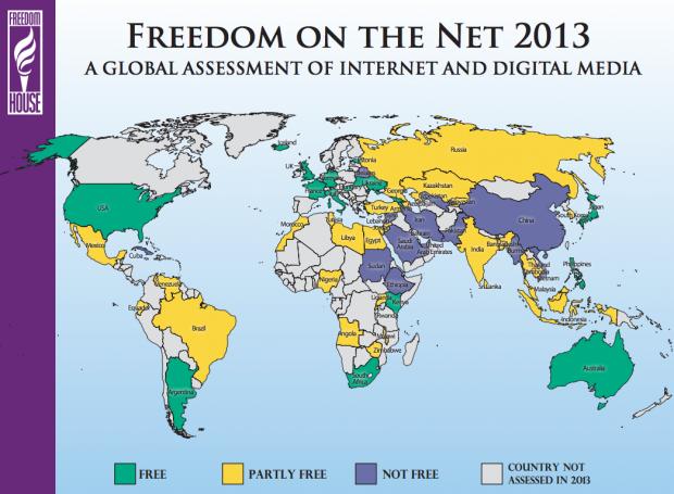 Свободата в интернет